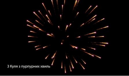 Гурт Ядра/Люсткугелі 3 дюйми