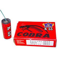 Петарда К55 Cobra (1 пач/4шт)