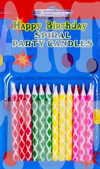 Тортові свічі 12 шт