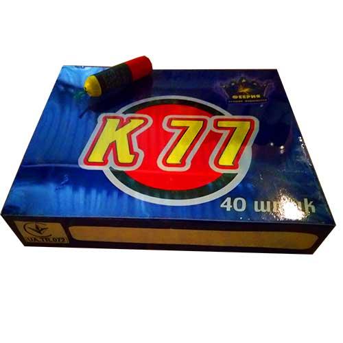 К77 Петарда з пластмасовим корпусом